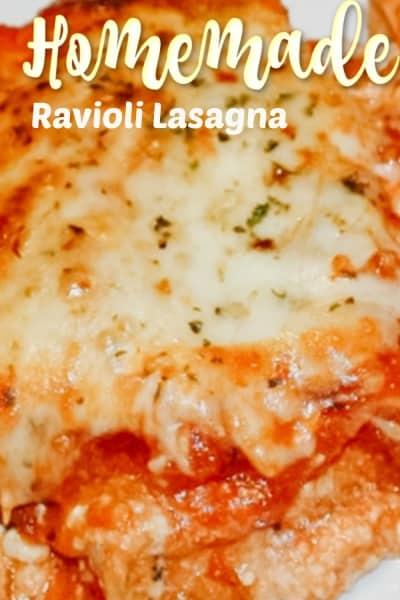 Ravioli Lasagna Casserole