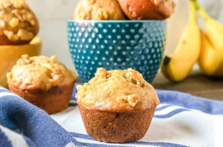 a abanana nut muffin