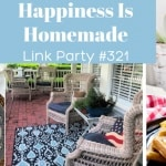 Happiness is Homemade Link Party #321