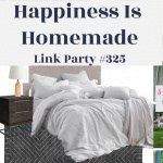 Happiness is Homemade Link Party #325