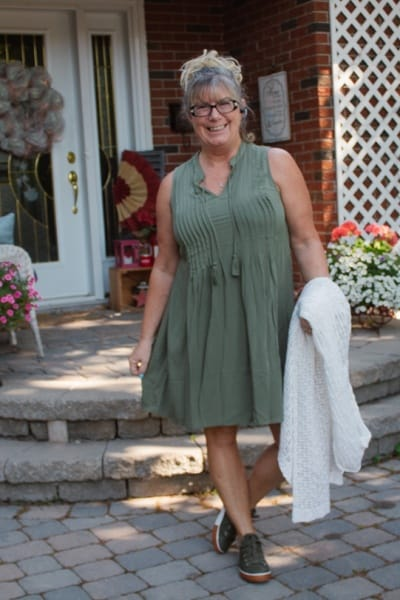 Old Navy Swing Dress and Covid