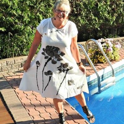 linen dress from Fashion Mia