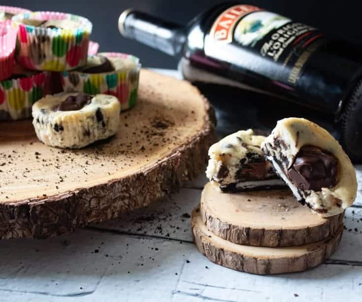 baileys oreo cheesecakes