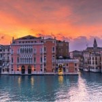 italia buildings on the river