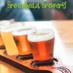 broadhead brewery pin
