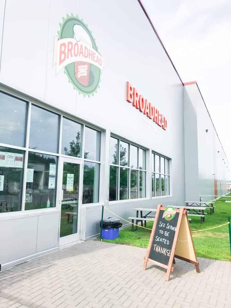 broadhead brewery in Orleans