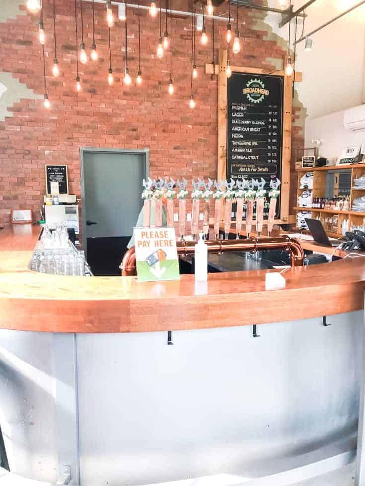 bar at Broadhead