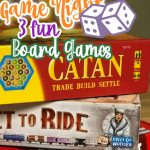3 family board games