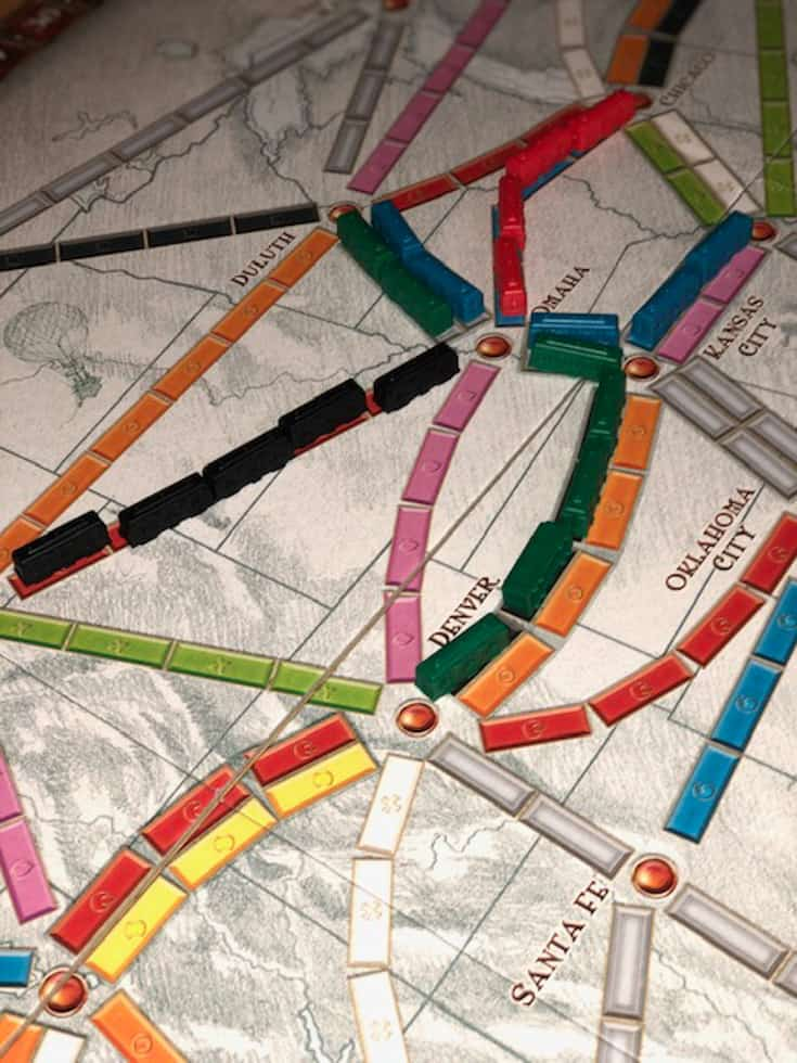 board for ticket to ride