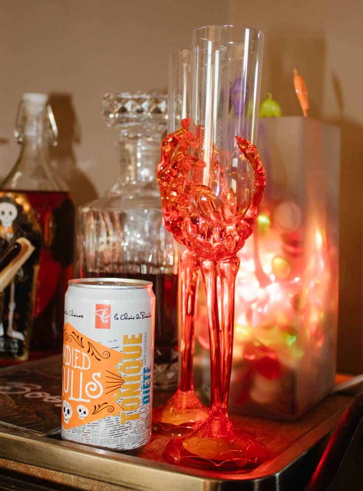 champagne flutes for halloween