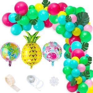 balloon garland Tropical
