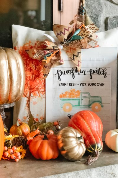 Pumpkin Patch Printable Sign