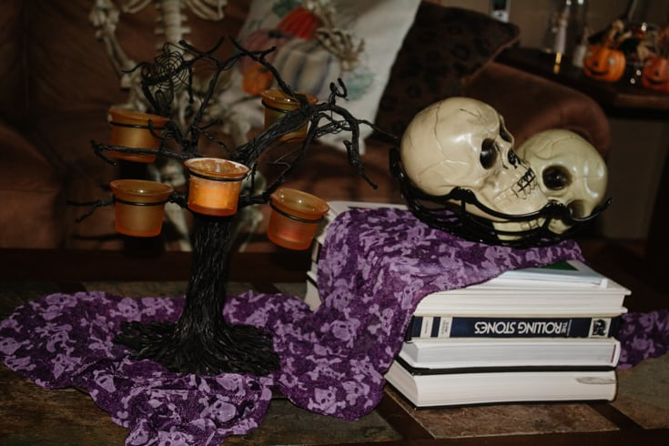 bowl of skulls
