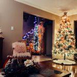festive trees for christmas