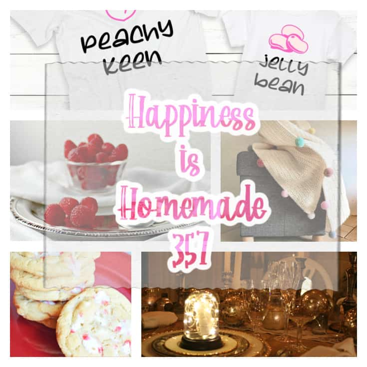 Happiness Is Homemade.Share NOW. #linkyparty #hih #eclecticredbarn