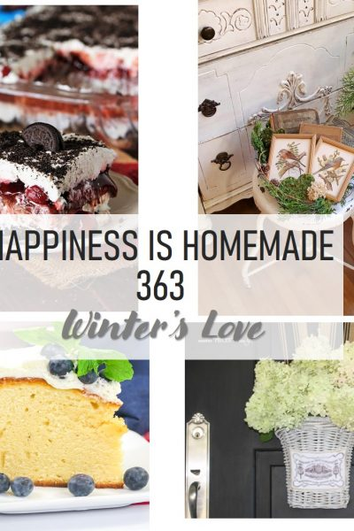 Happiness Is Homemade 363