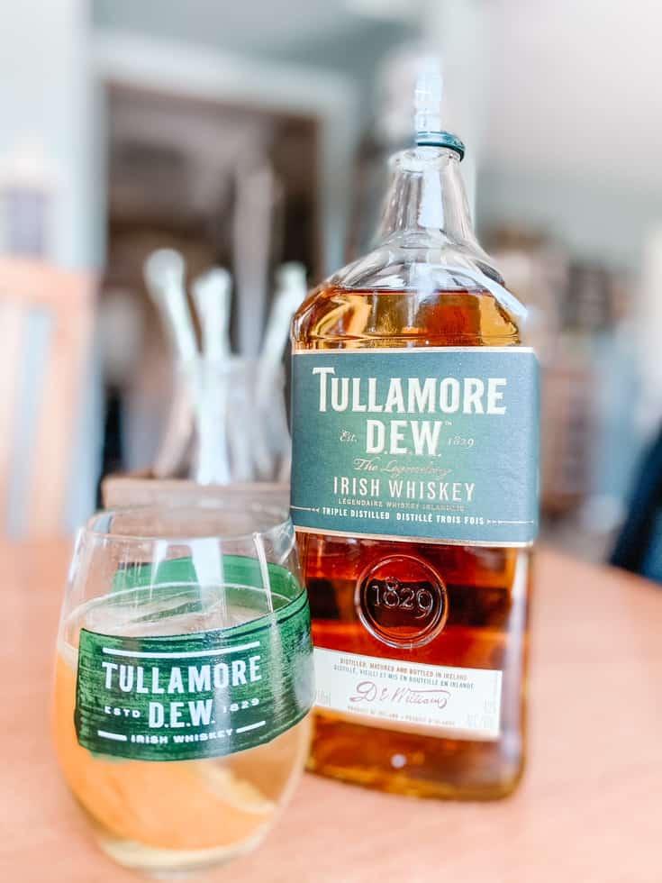 nottle of Tullamore Dew