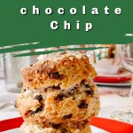 chocolate chip scone pin
