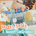 easter centrepiece pin