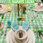 easter table decor pin