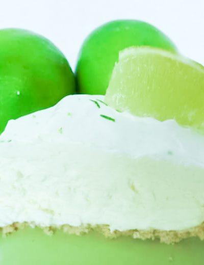 Simple and Easy Frozen Margarita Pie