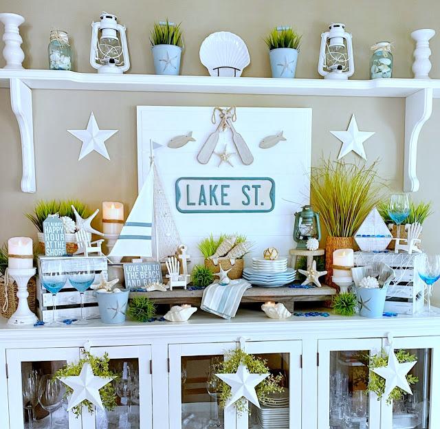 lake front buffet