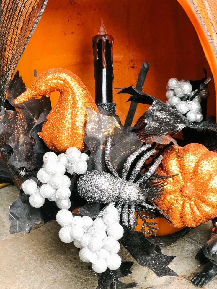 inside of my Pumpkin Lantern