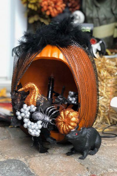 Spooky Halloween Pumpkin Lanterns