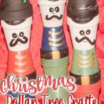craft mini clay pot nutcrackers displayed